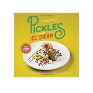 Pickles and Ice Cream Cookbook Baby Shower Prego